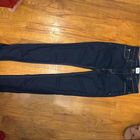 Hudson Jeans Denim - Hudson dark wash skinny jeans!!
